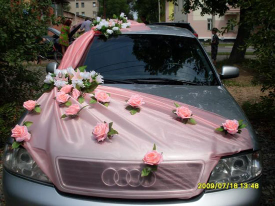 Beauty By Jessy: Wedding Car Decoration Ideas