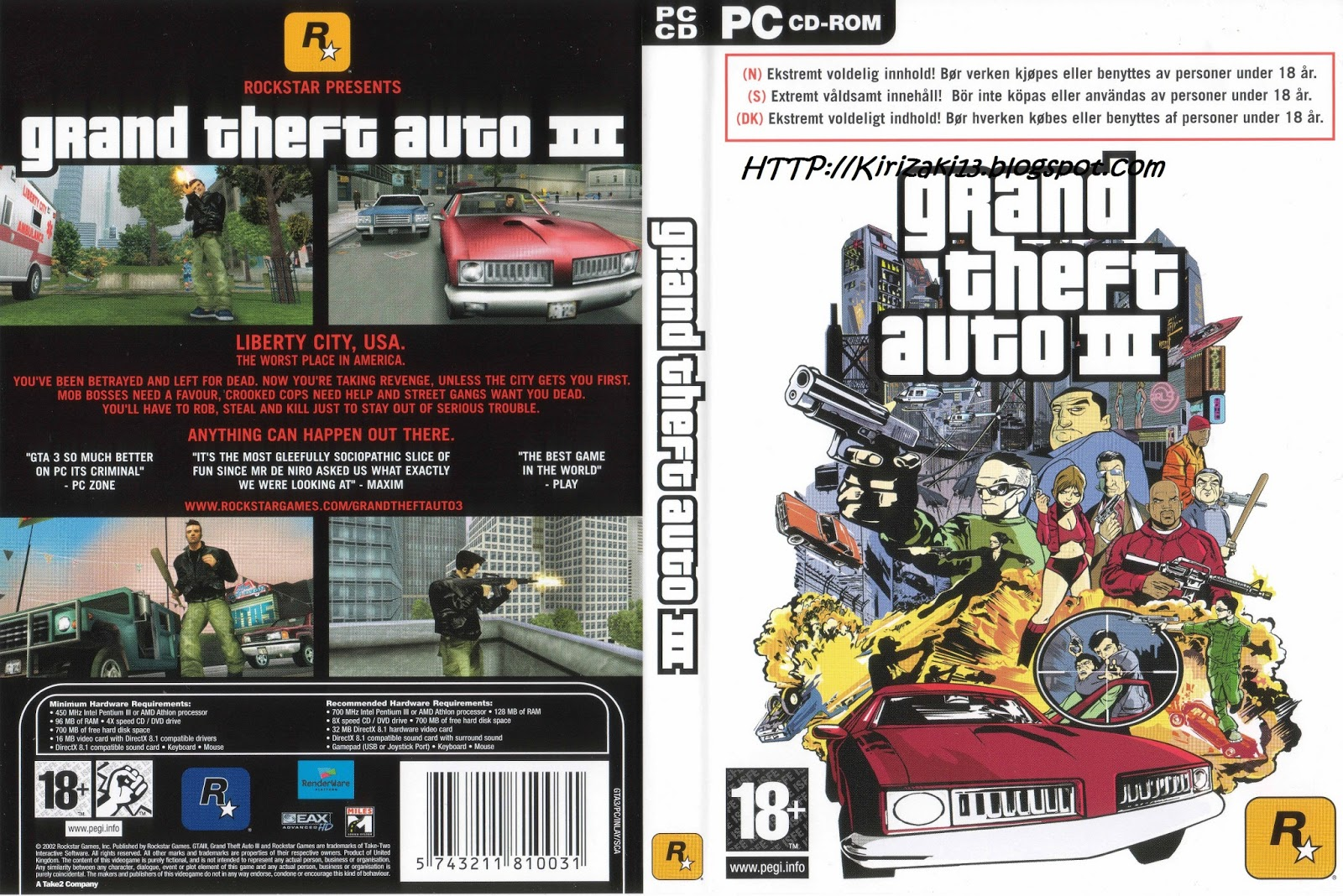 Download gta 3 for pc in mb