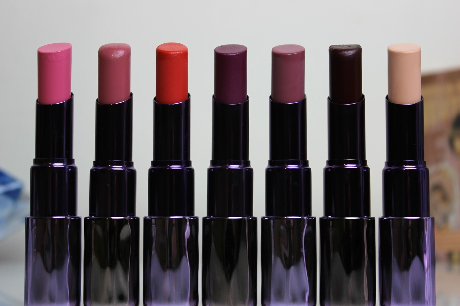 A picture of Urban Decay Revolution and Sheer Revolution Lipsticks