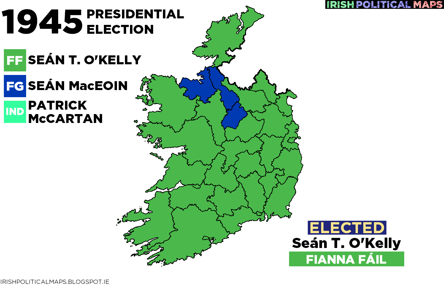 after the votes were cast on 14 june o kelly emerged as the winner mac eoin and mccartan came second and third respectively o kelly s vote was high in