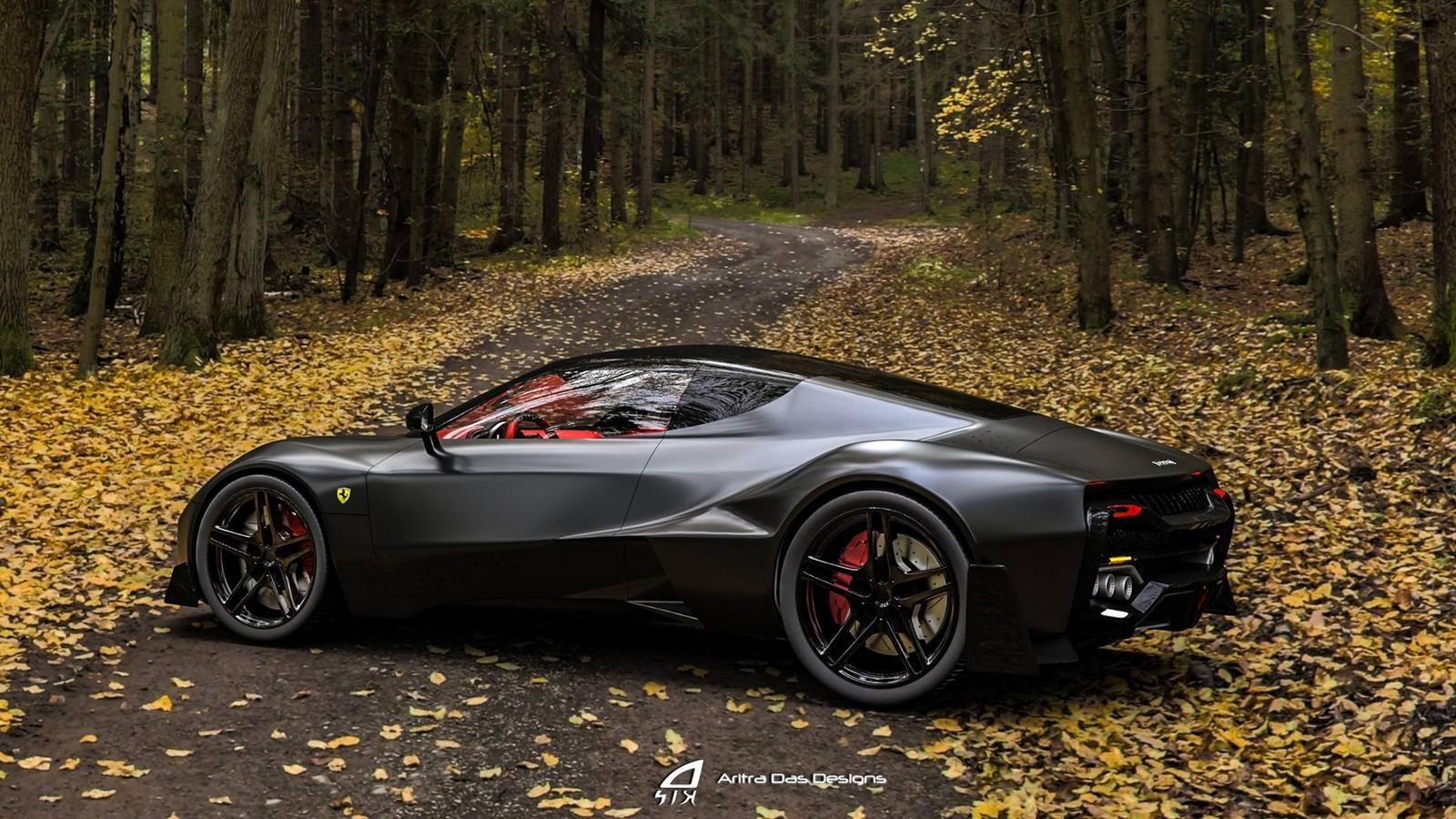 Ferrari Zenyatta Is A Designer S Vision For A New Hypercar