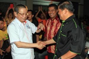 Lim Kit Siang dan Mat Sabu
