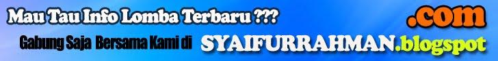 banner blog syaifurrahman