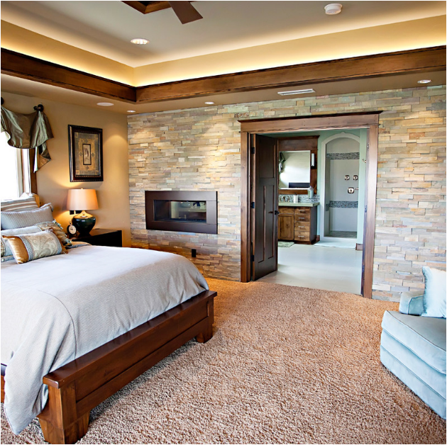 Key interiors by shinay 5 luxury master bedroom suites Master bedroom with fireplace images