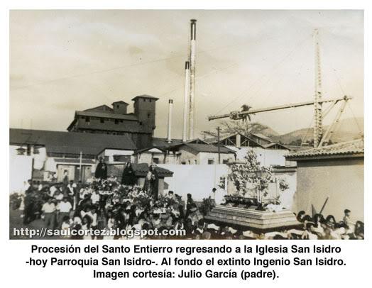 Procesión del Santo Entierro en San Isidro
