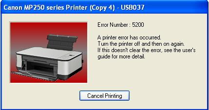 error 5200
