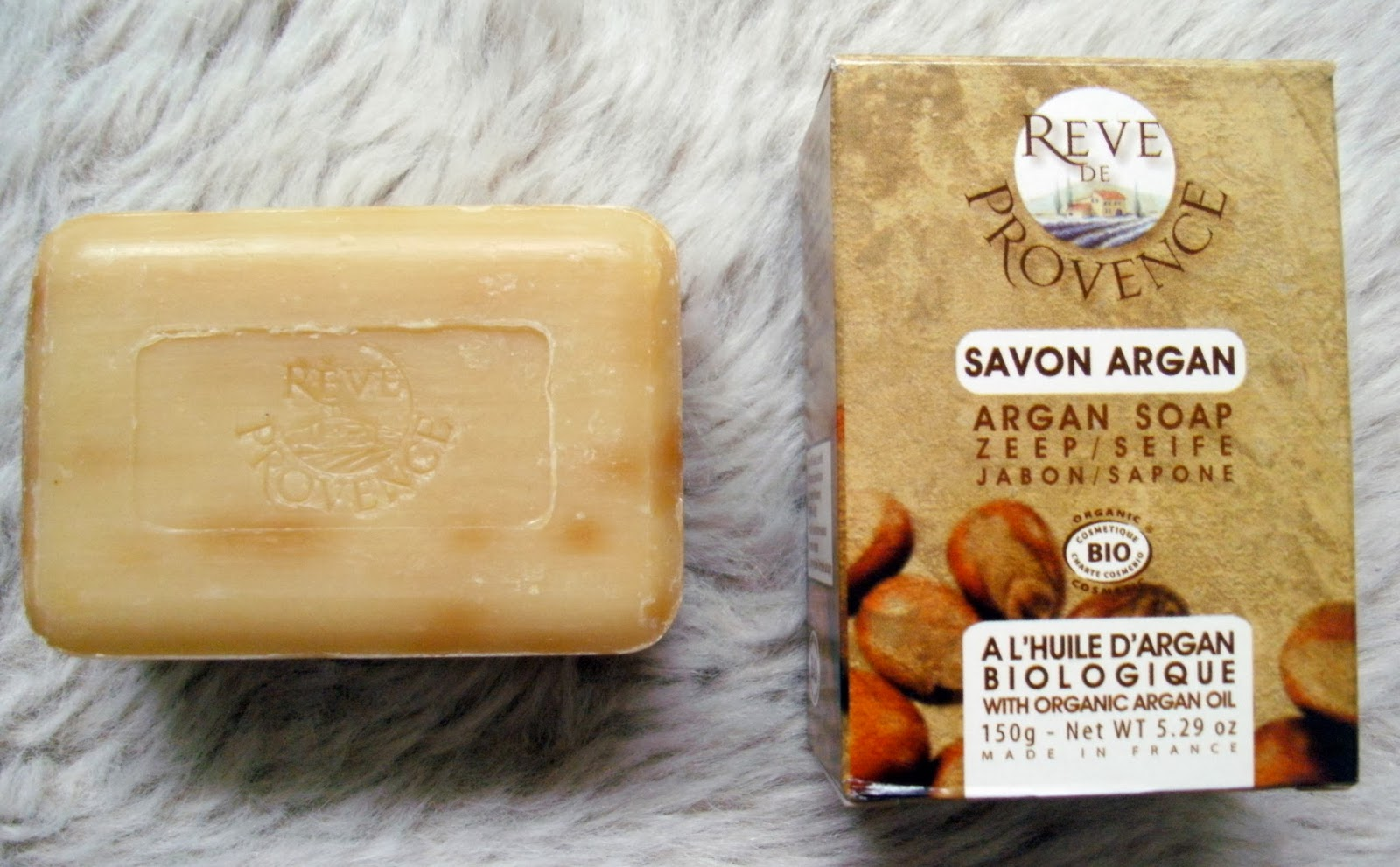 Reve de Provence Argan Oil Organic Soap Bar