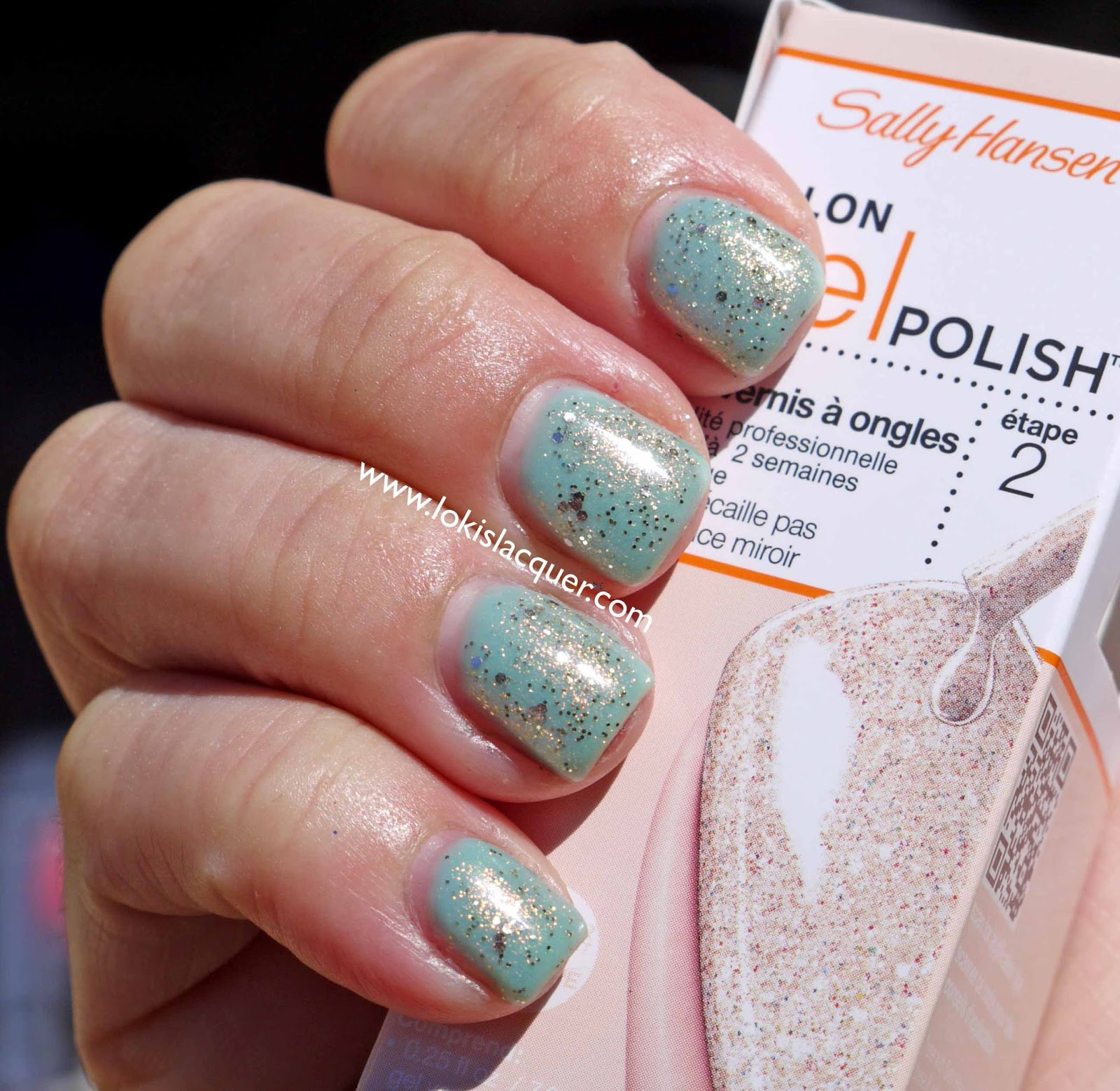 In sun over Sally hansen JadedSally Hansen Jaded