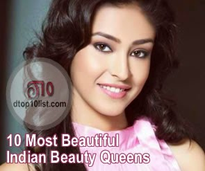 Top 10 Most Beautiful Indian Beauty Queens