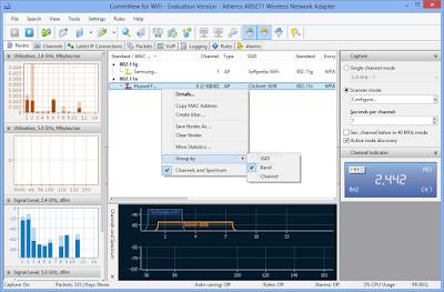 CommView for WiFi - WIreless Network Traffic Monitor & Analyzer