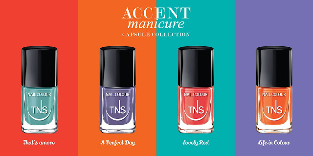 TNS Cosmetics Accent Manicure Capsule Collection
