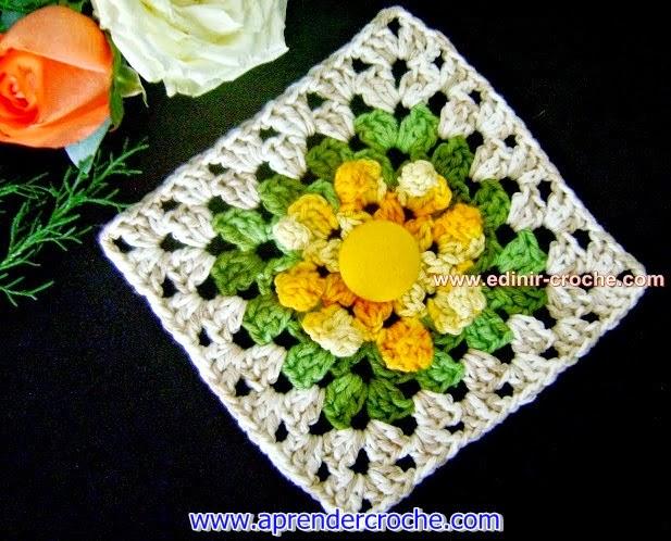 dvd curso de croche loja quadrados square nó inicial posição da agulha flores frete gratis aprender croche com receita edinir-croche