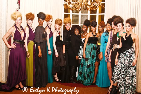 Peace through fashion-models