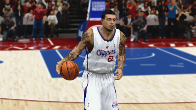 NBA 2K13 Matt Barnes Face - V2 Dark Goatee