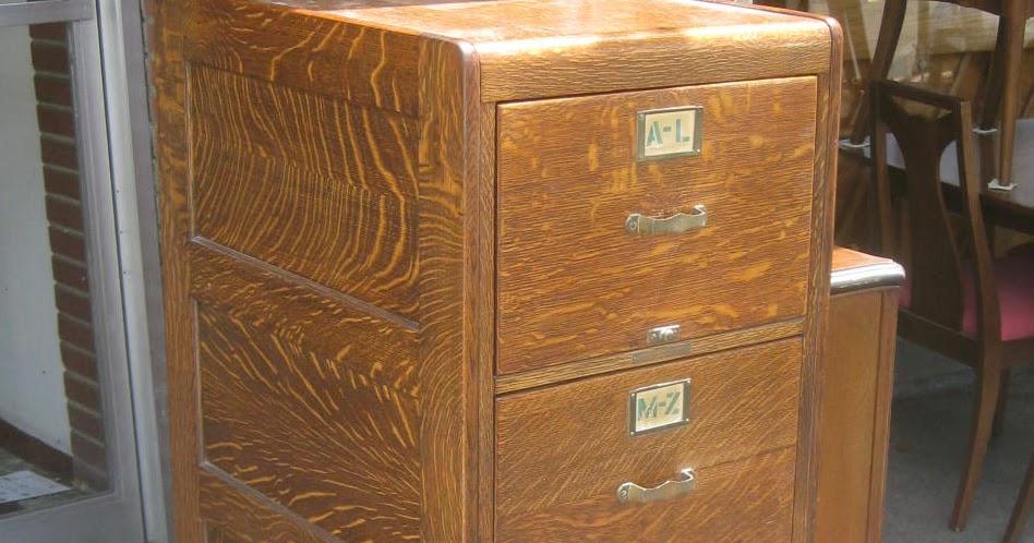 Uhuru Furniture Amp Collectibles Sold Quarter Sawn Oak File Cabinet 225