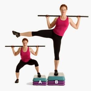 Body Bar Workout Clip Art