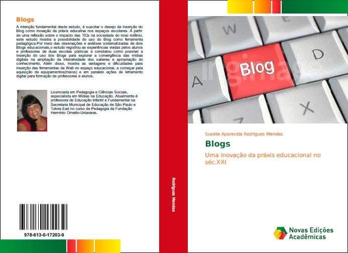 LIVRO: Blogs: uma inovação na praxis educacional do sec XXI