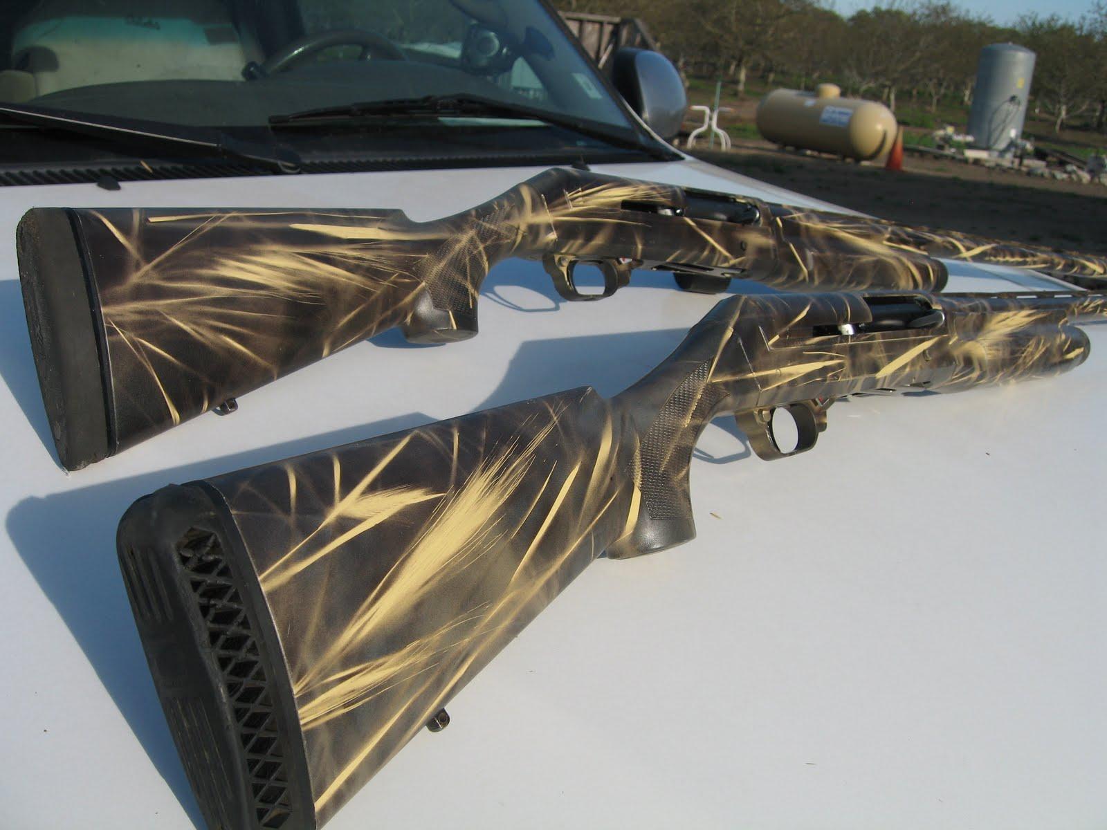 Leaf Camo Spray Paint Guns