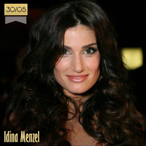 30 de mayo | Idina Menzel - @idinamenzel | Info + vídeos
