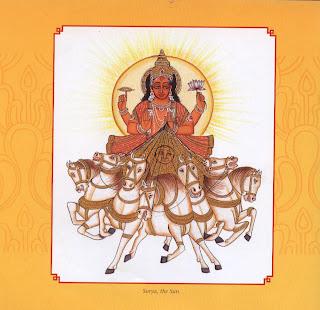 Surya, the Sun.