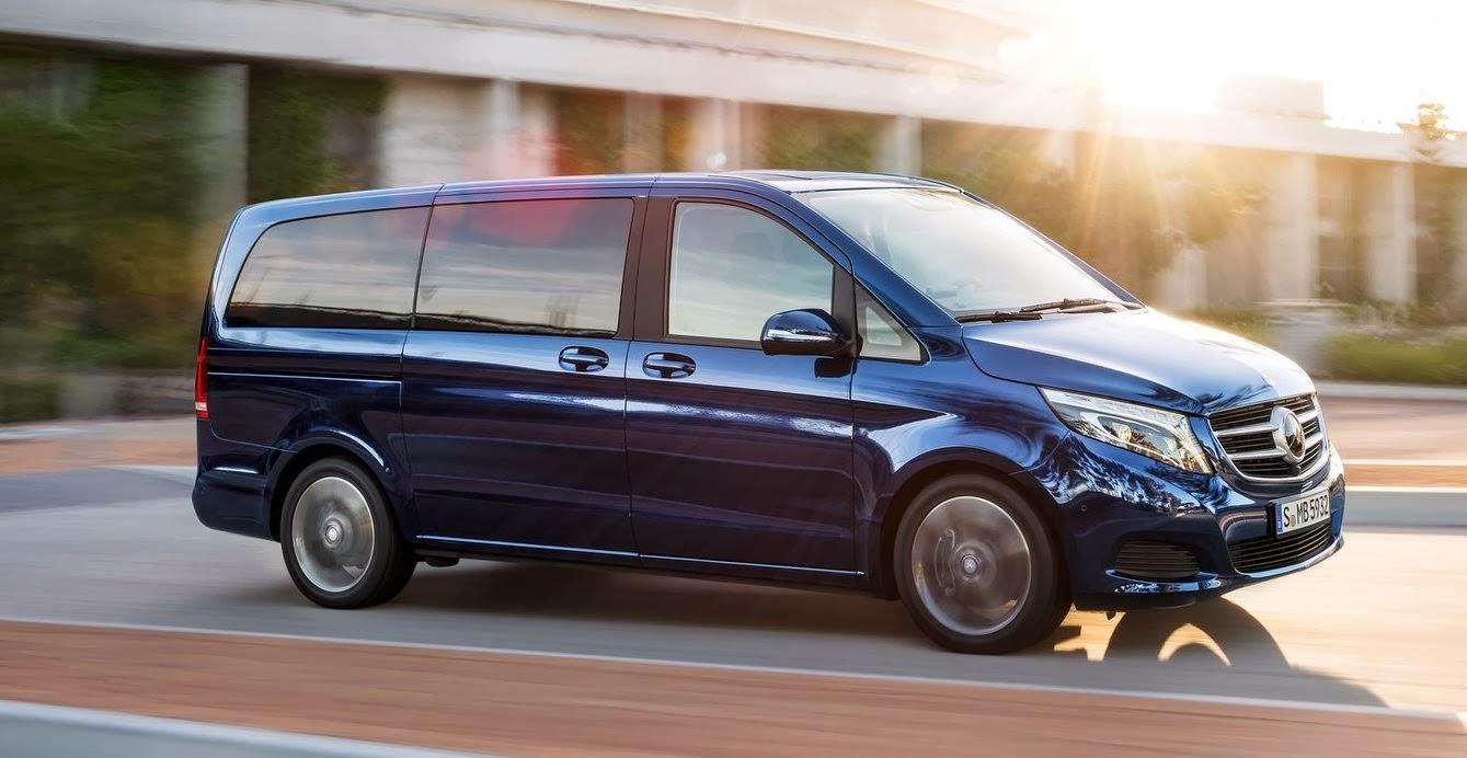 la gazette automobile mercedes classe v 3 me g n ration minibus pour vip. Black Bedroom Furniture Sets. Home Design Ideas