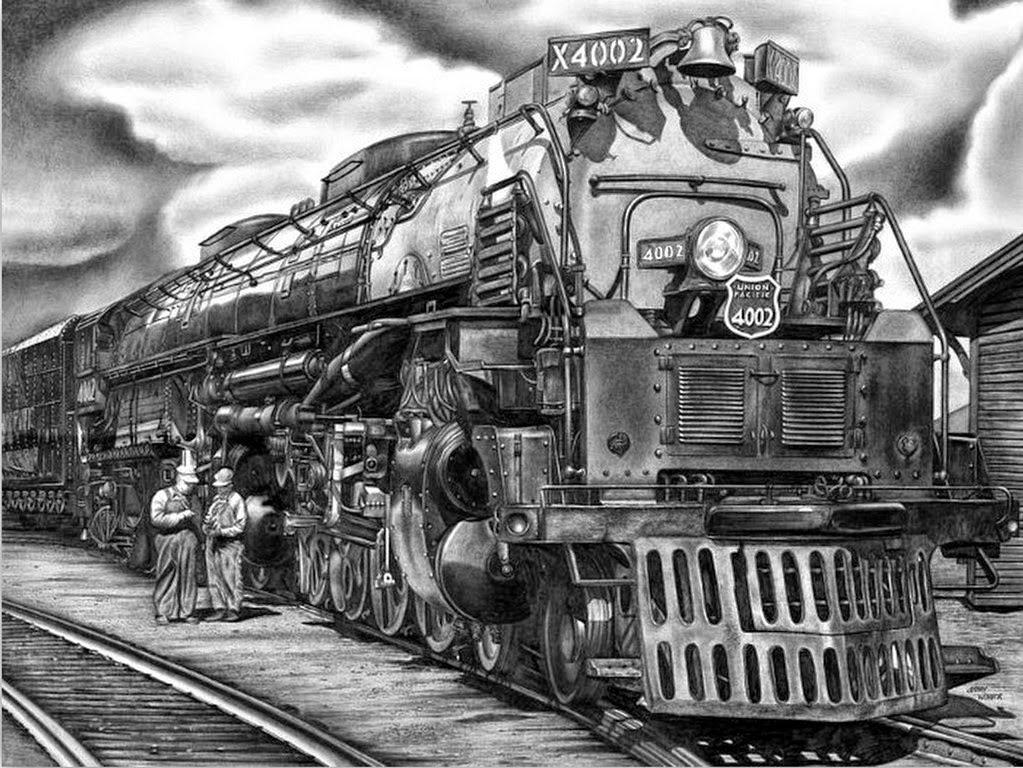 tren-dibujo-a-lapiz