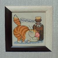 Вышивка крестом котята