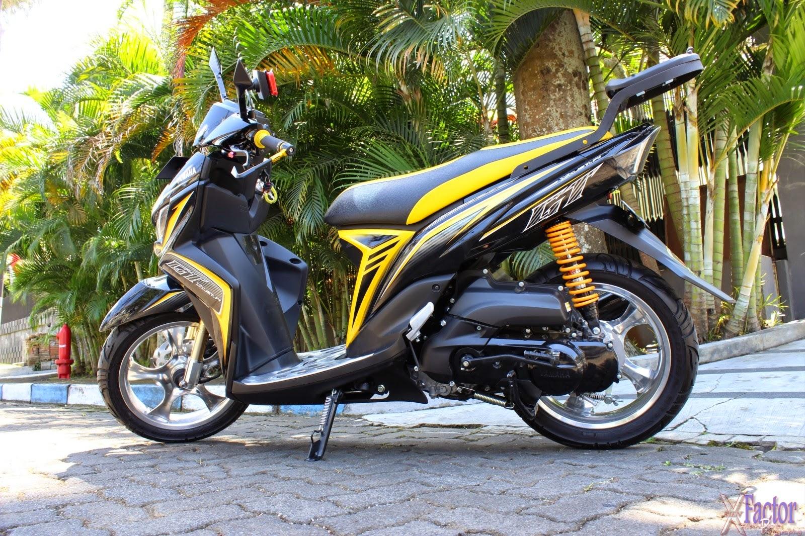 modifikasi motor mio gt 2015 terbaru