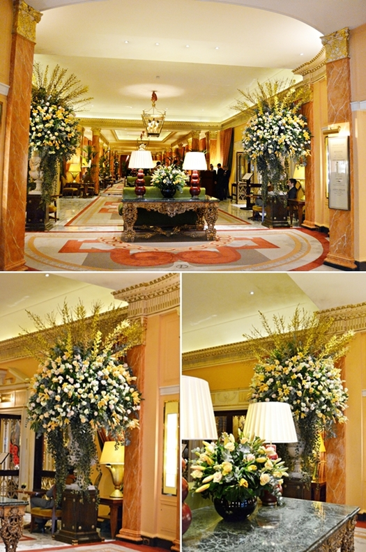 blommor lyxhotel, blommor hotell, blommor hotell london, flowers luxury hotels, flower luxury hotels london, flowers the dorchester hotel london