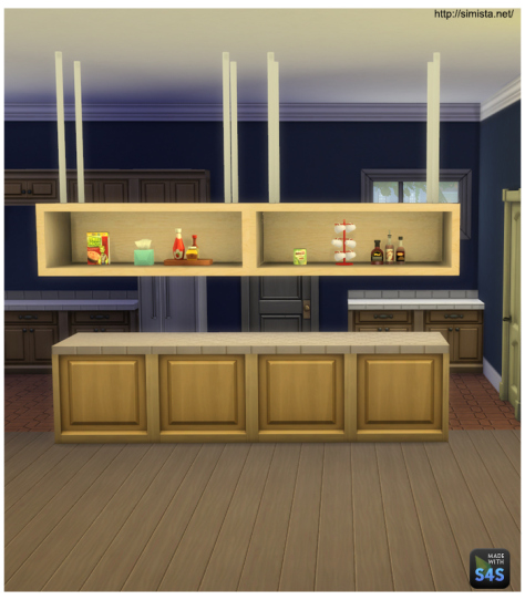 My sims 4 blog free hanging shelf by mr s for Free hanging bookshelves