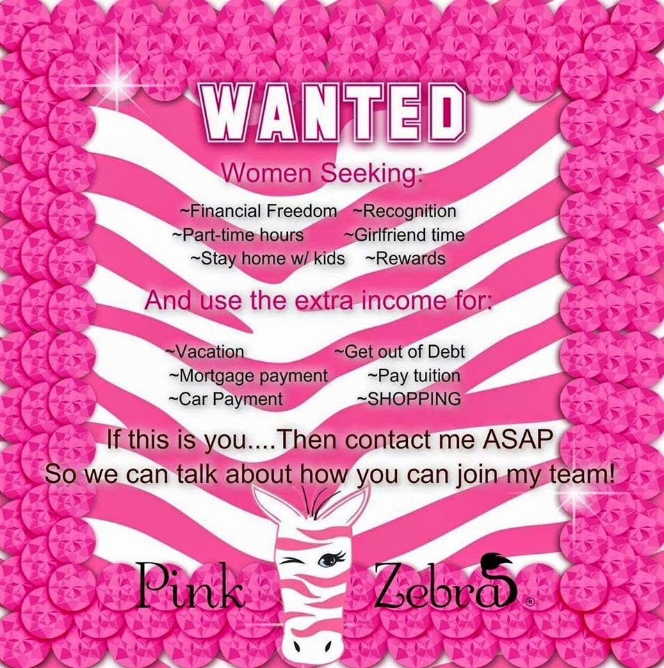 Pink Zebra Consultant Texas Image pic