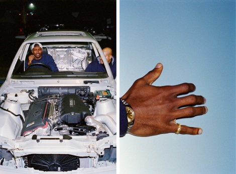 Frank Ocean in car magazine
