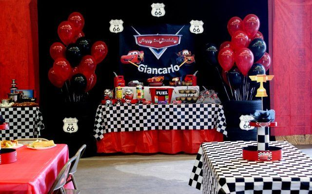 Decoracion Infantil De Cars ~ bombon Decoraci?n Fiesta Cars