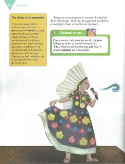 Apoyo Primaria Español 6to Grado Bloque IV Lección 11 Conocer una canción de los pueblos originarios de México
