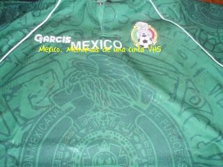 camiseta México en el Mundial
