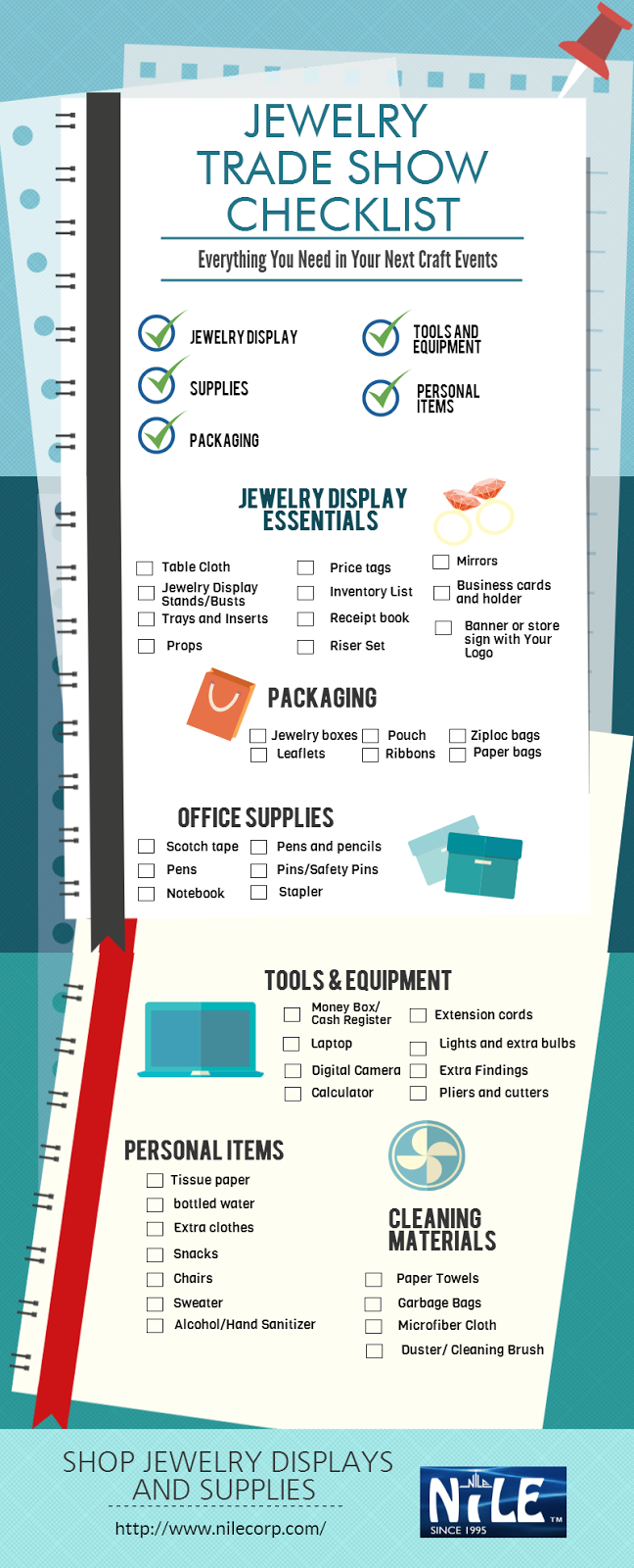 Jewelry Trade Show Checklist