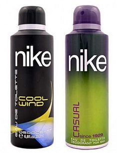 Set of 2 Nike Deodorants 200 Ml Each worth Rs.699 for Rs.229 (Shipping Charges Included) Only @ Rediff