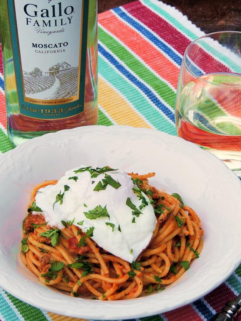Chorizo Carbonara from www.bobbiskozykitchen.com