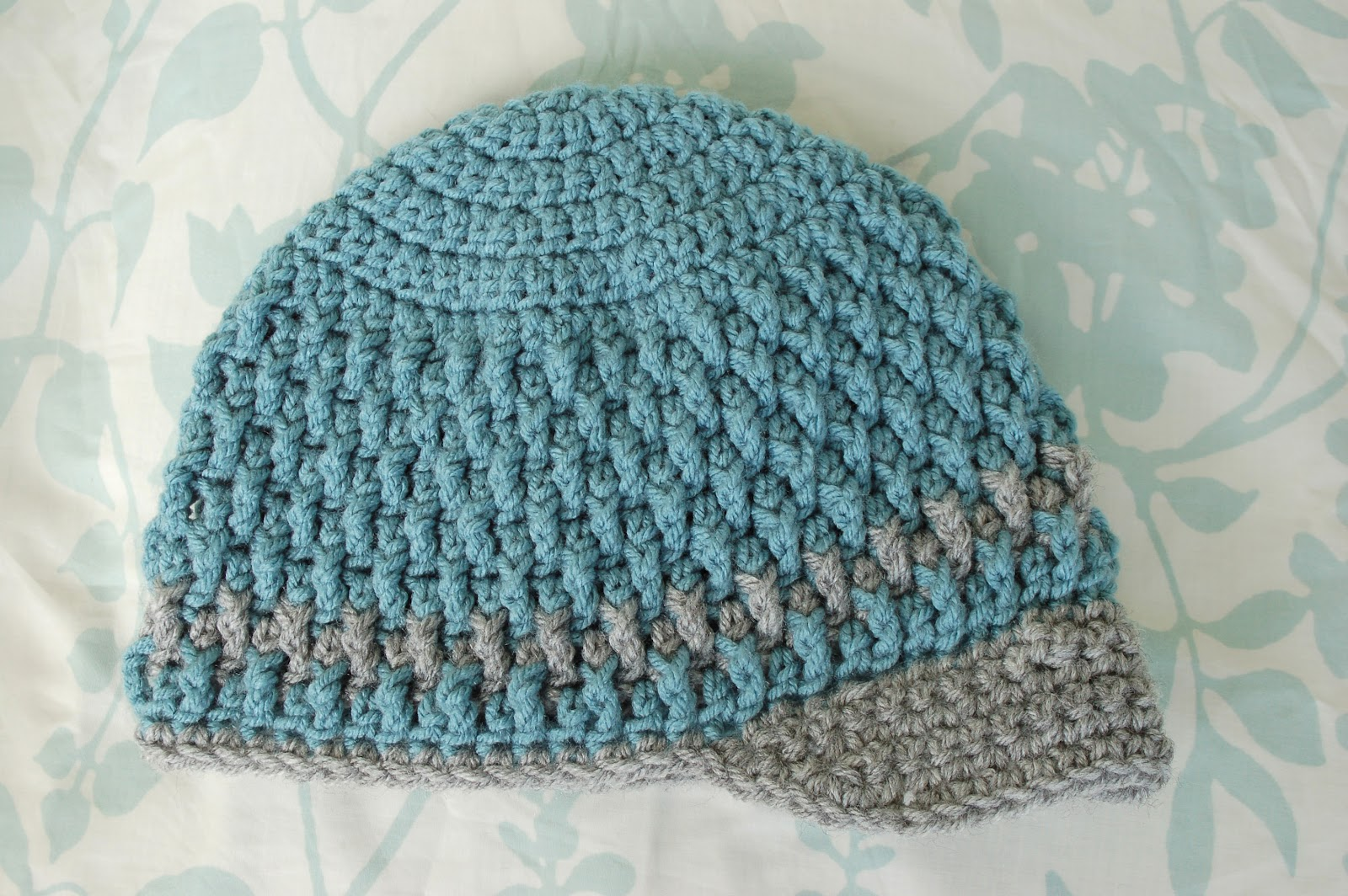 Free Crochet Pattern For A Newborn Hat : Alli Crafts: Free Pattern: Deeply Textured Hat - Toddler