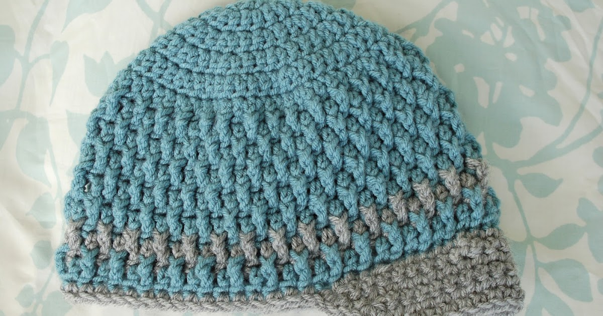 alli crafts free pattern deeply textured hat   toddler
