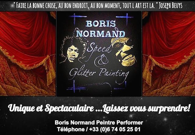 Boris Normand Glitter Painting: Boris normand speed ...