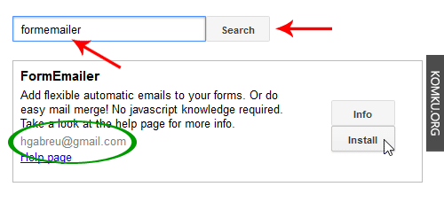 google site how to create a contact form