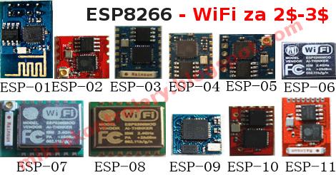 ESP8266 - Moduł WiFi do mikrokontrolerów i nie tylko (AVR, ARM, XMega, Pic, STM, itp.)