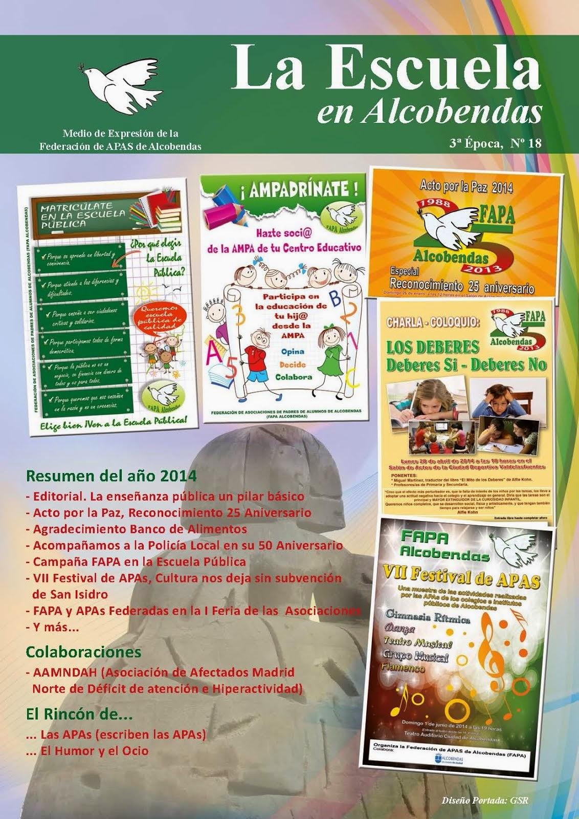 """Revista """"La Escuela en Alcobendas"""""""