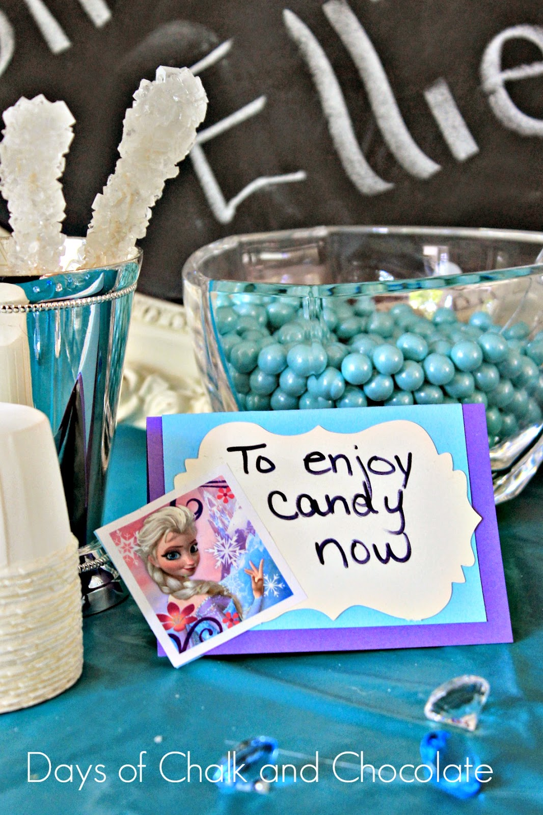 frozen place cards