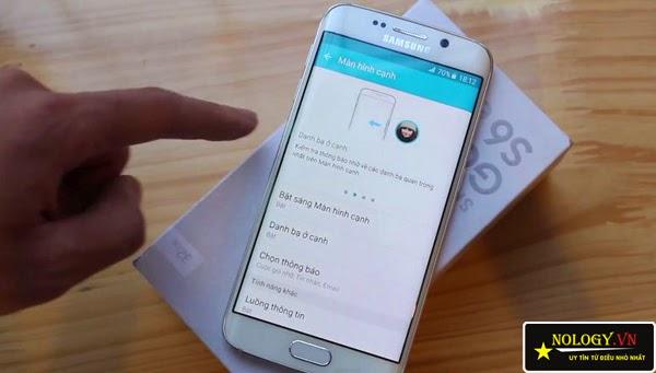 Samsung Galaxy S6 và Samsung Galaxy S6 Edge đọ dáng.