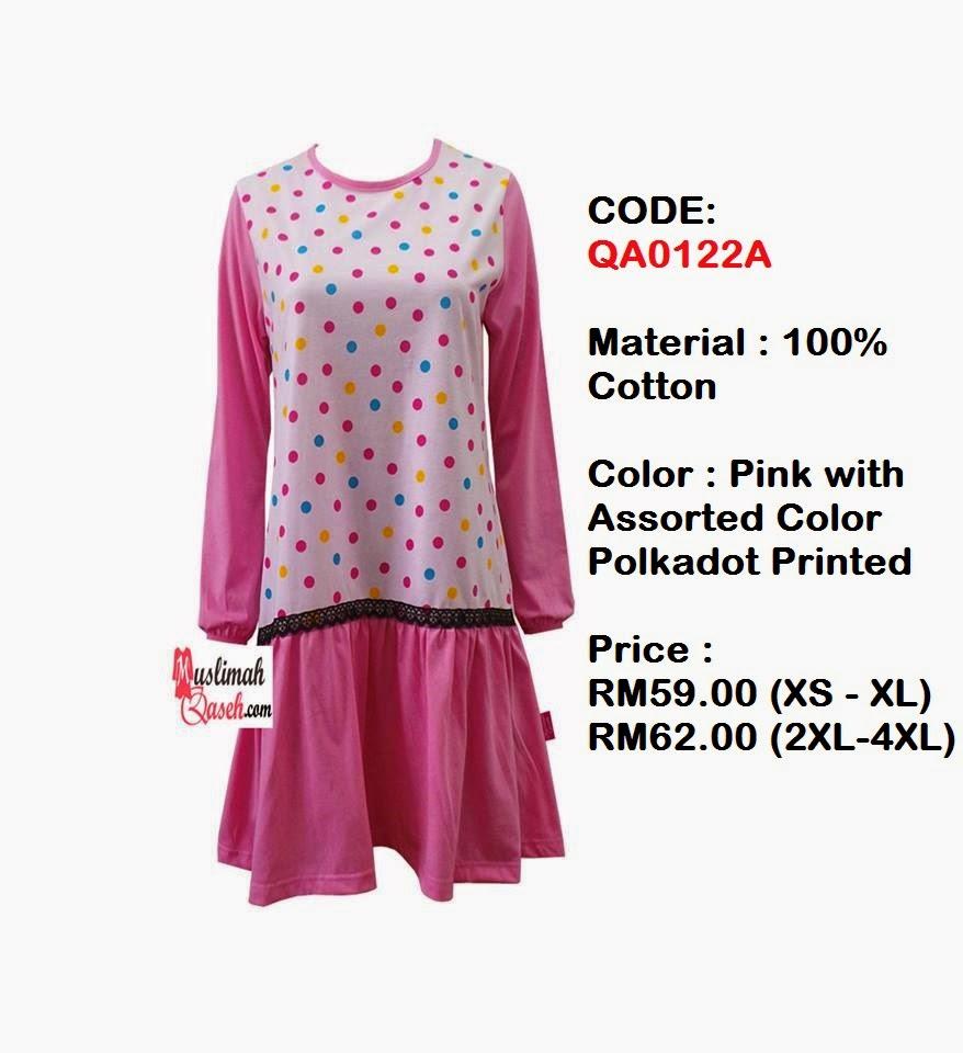 T-Shirt-Muslimah-Qaseh-QA0122A