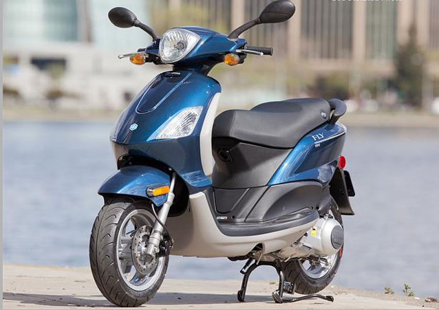 2012 Piaggio Fly 150 Scooter Review ~ otobicycle