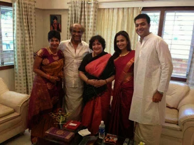 Rajinikanth-family-diwali-celebration-pics