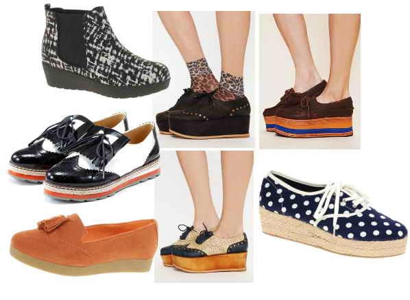 Desain Model Terbaru Sepatu Wanita Trend 2014